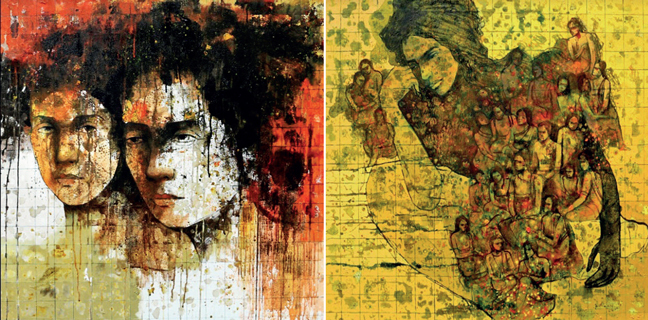 The sense of gloom observed in her art is not sadness but preoccupation, says Swati Sabale