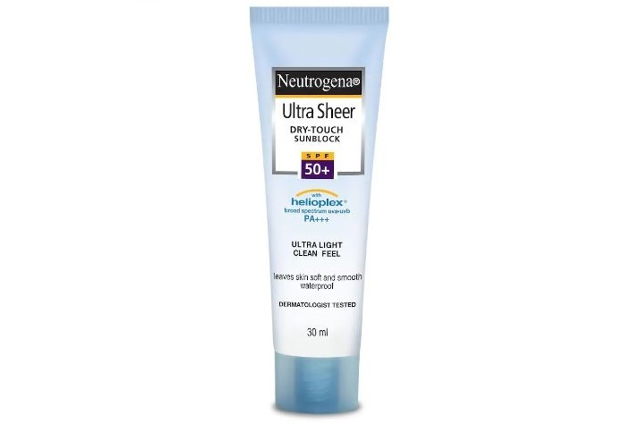 Neutrogena Ultra Sheer Dry-touch Sunblock SPF50