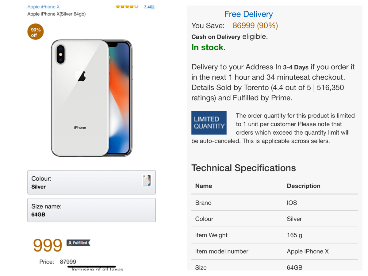 Apple iPhone X scam: Apple iPhone X scam: Beware of this fake 'viral