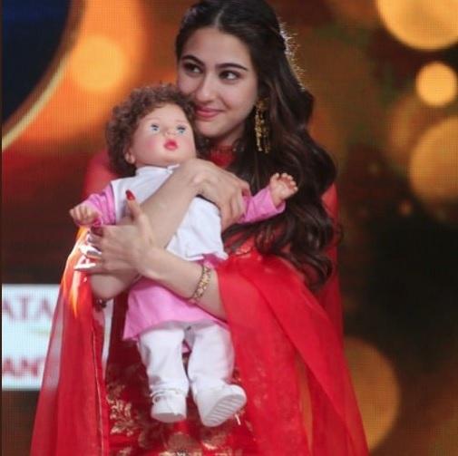 Sara Ali Khan - Taimur Ali Khan Doll
