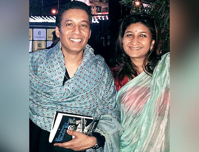 Hidayat Khan with Namita Devidayal