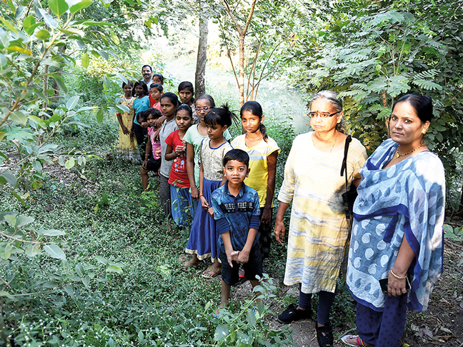 Locals recently expanded the patch they are rejuvenating by an additional 200 metres; with the help of the NGO, they are growing vegetables they wish to consume on it, too