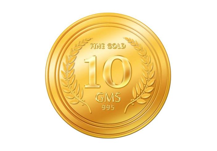 Euphoria Jewellery 10gm Gold Coin 24KT 995