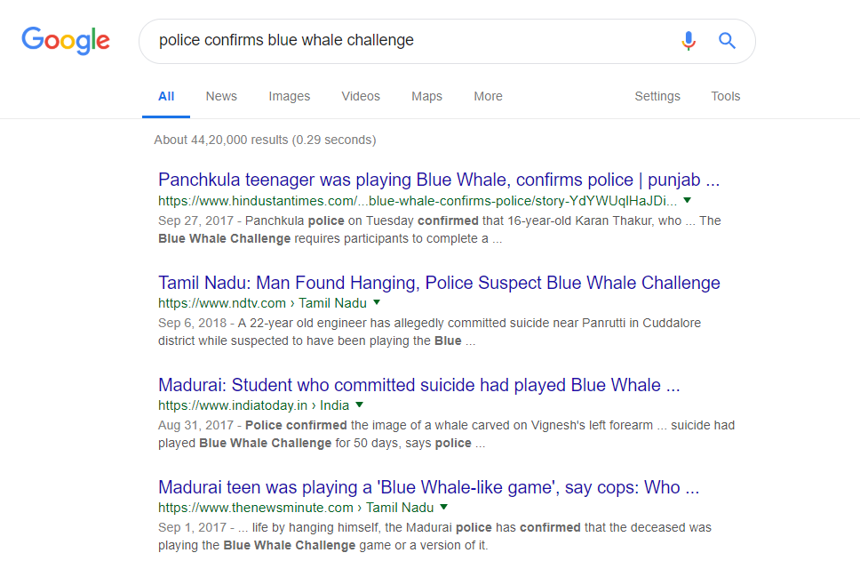 bluewhalesearch