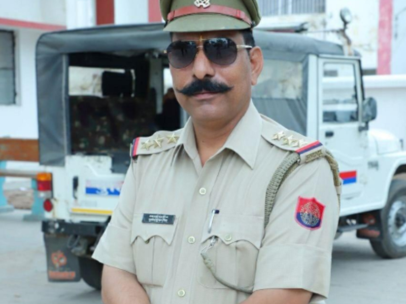 File photo of deceased police inspector, Subodh Kumar