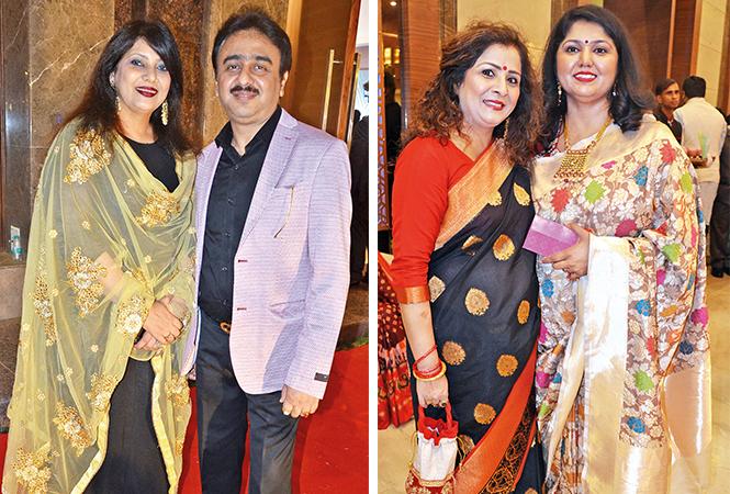 (L) Anupama and Raghvendra (R) Mala and Meenakshi (BCCL/ IB Singh)