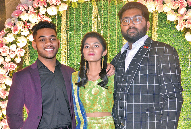 (L-R) Rajat, Ananya and Aaditya (BCCL/ IB Singh)