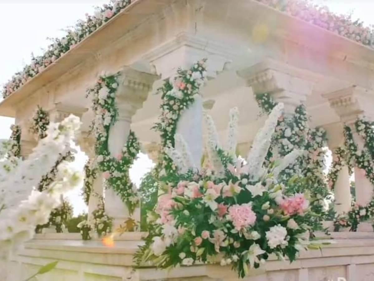 Priyanka Chopra and Nick Jonas Wedding Venue pictures images photos