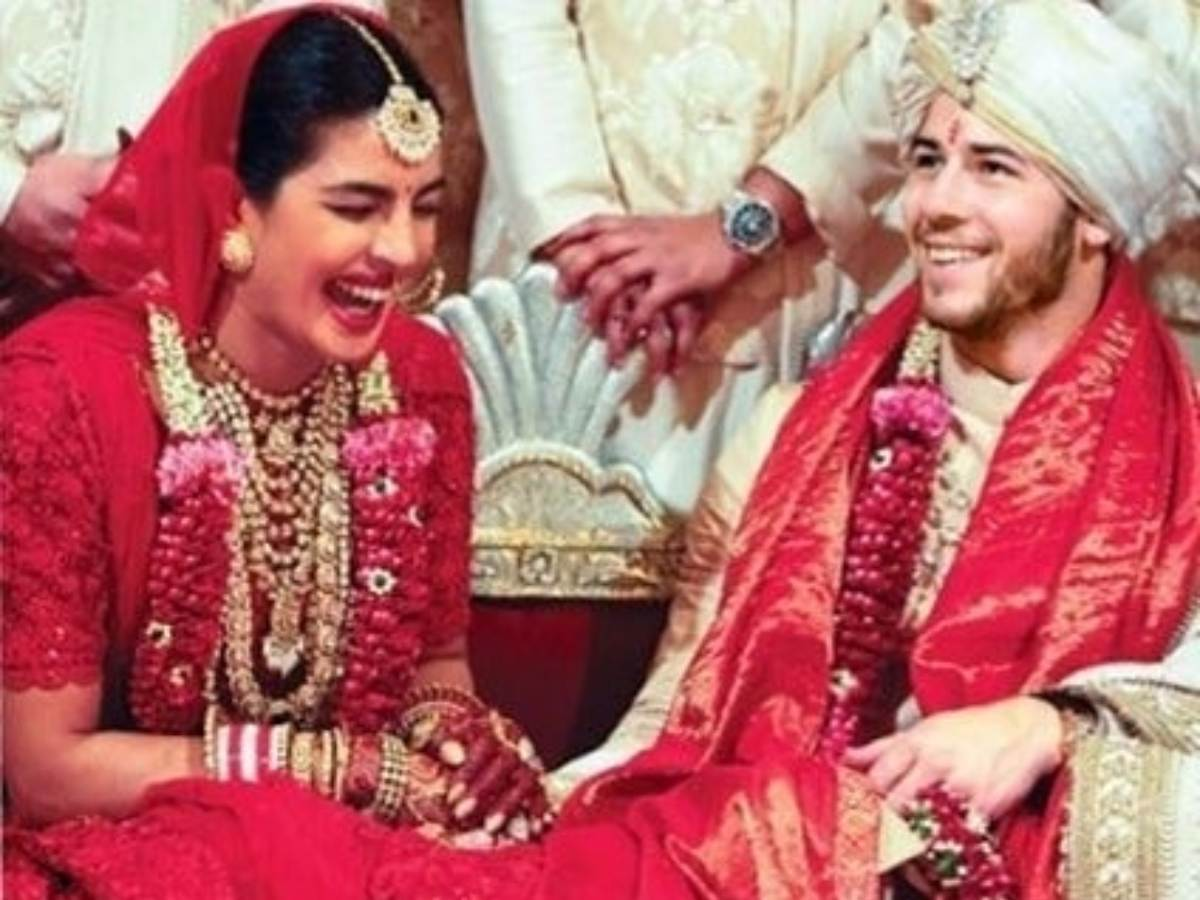 Priyanka Chopra Nick Jonas wedding smiles photos marriages pictures