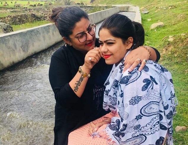 Manjot Singh Kohli with Samreen Akhtar