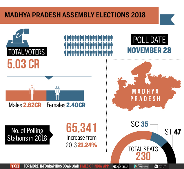 Graphic MP 2018 election