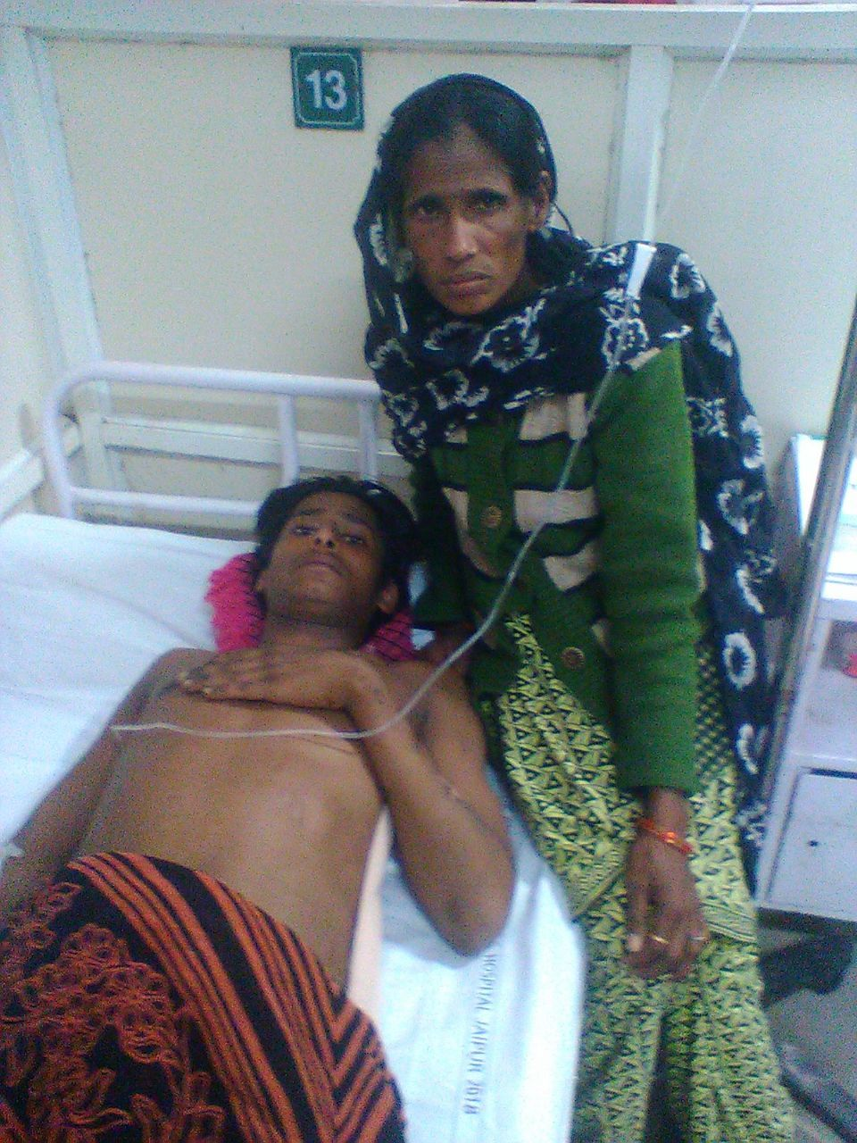 Asif and his mother