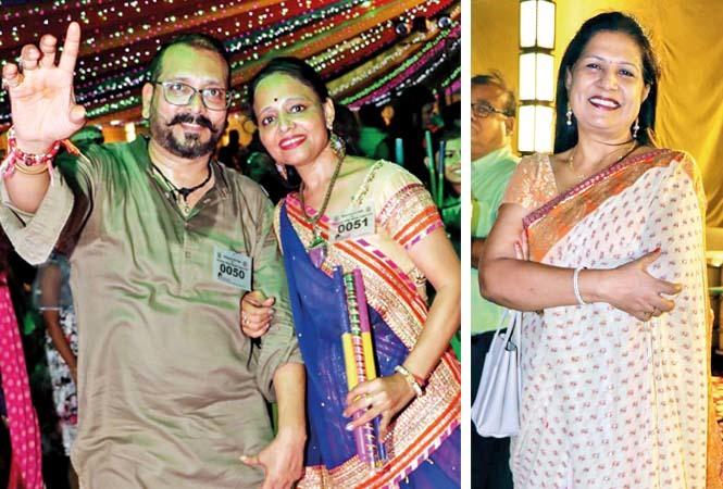 (L) Hemant Khatri and Tarana Khatri (R) Jyoti Maheshwari (BCCL/ Unmesh Pandey)