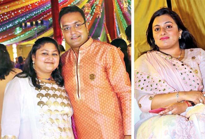 (L) Nidhi and Varun Mundra (R) Kamya Kulkarni (BCCL/ Unmesh Pandey)
