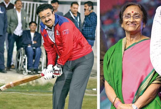 (L) Navneet Sehgal (R) Reeta Bahuguna Joshi (BCCL/ Aditya Yadav)
