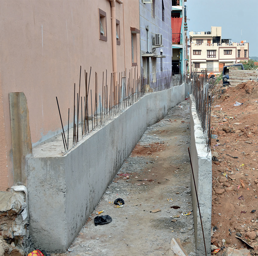 With BBMP's adjustment, the encroachers have gone scot-free