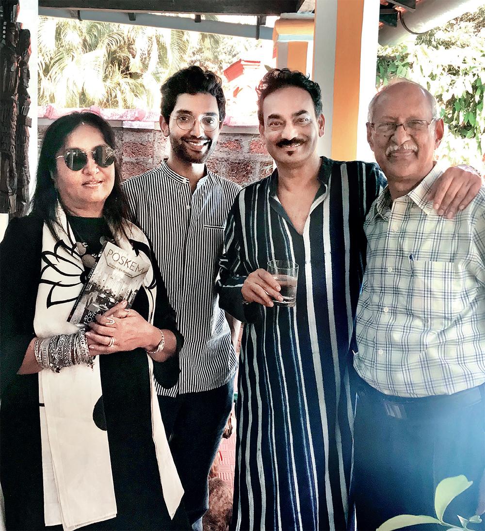 Geeta Gopalakrishnan, Manu Pillai, Rodricks and Damodar Mauz
