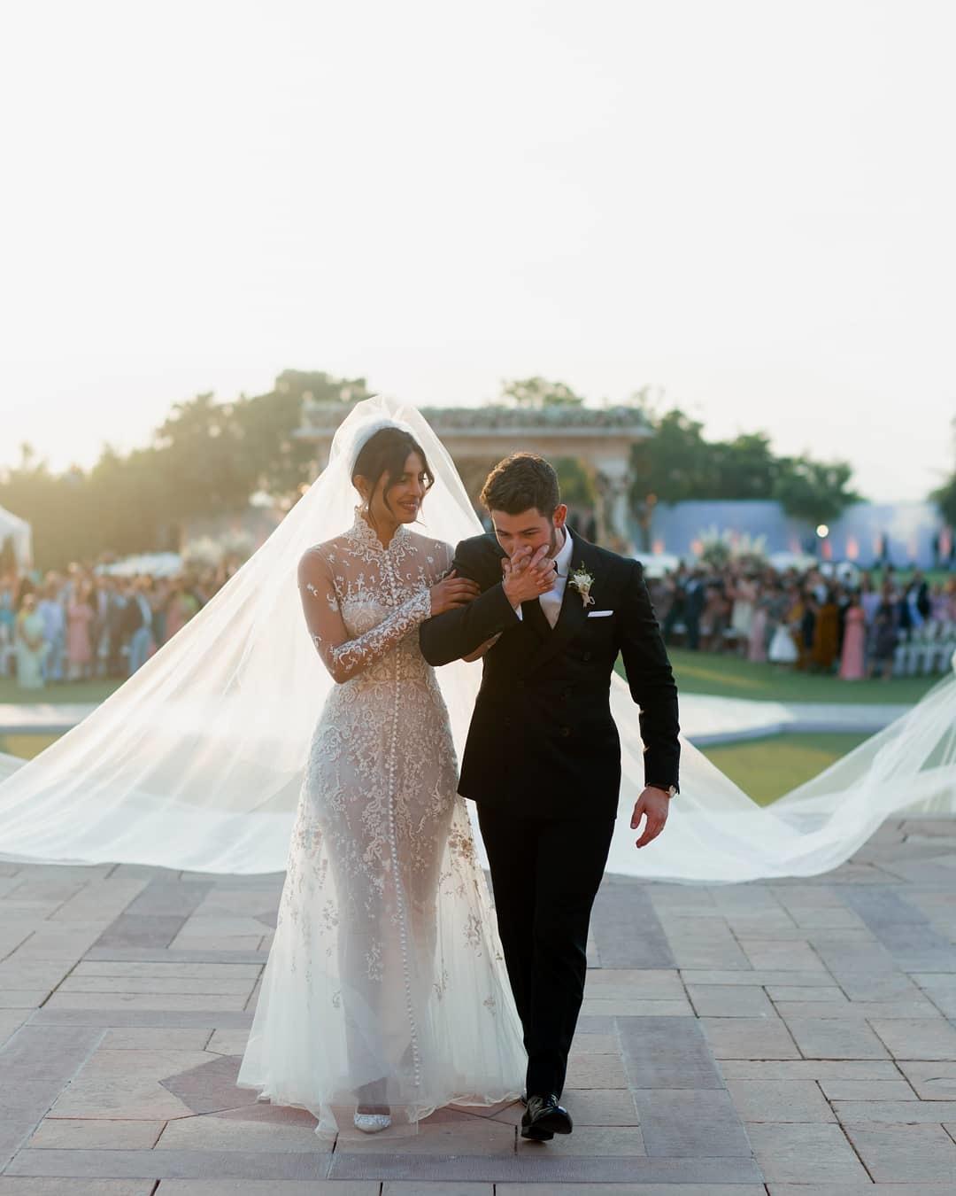 The Christian wedding (Source Instagram)