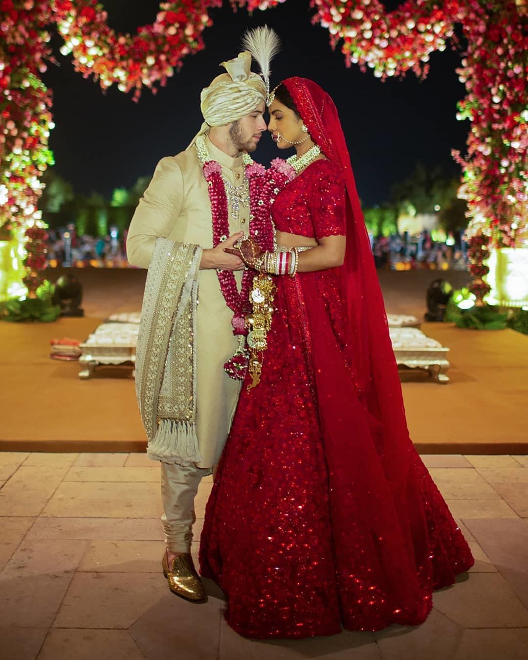 The Hindu wedding (Source Instagram)