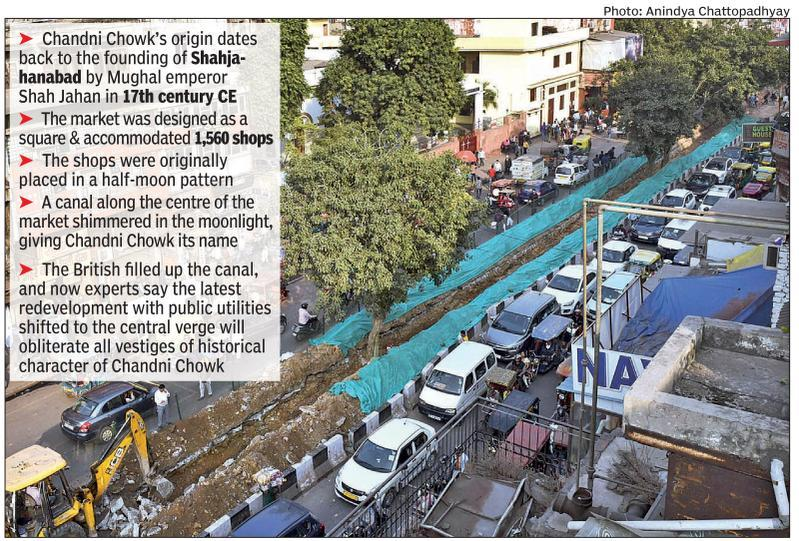 Why experts feel revamp will ruin Chandni Chowk's historic fabric