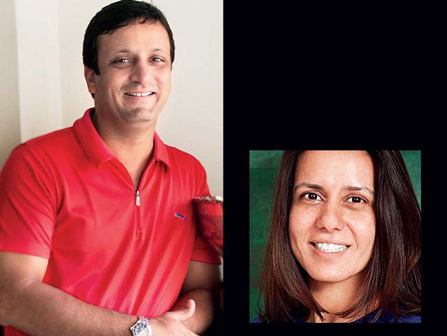 Rahul Divan; Rumana Hamied (Inset)
