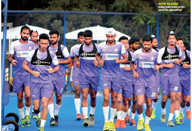 6d3329831 Hockey World Cup  India ready for Netherlands test in quarterfinal ...