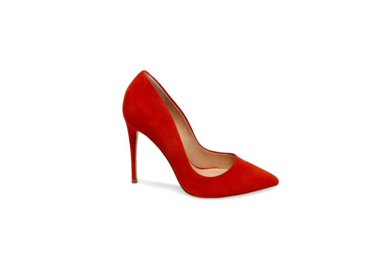 Red Suede by Steve Madden