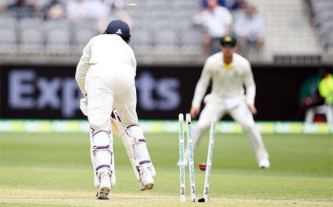 india vs australia live score 2nd test 2019