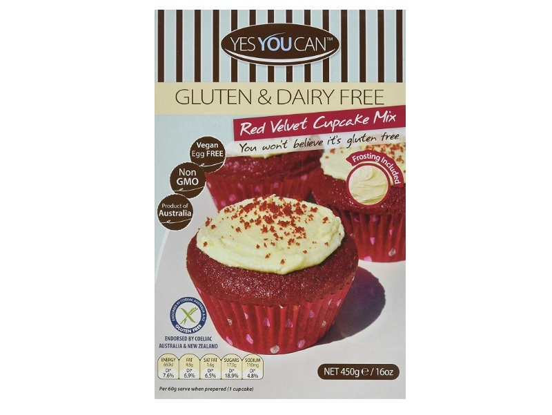 Yes You Can Gluten-Free Red Velvet Cupcake Mix