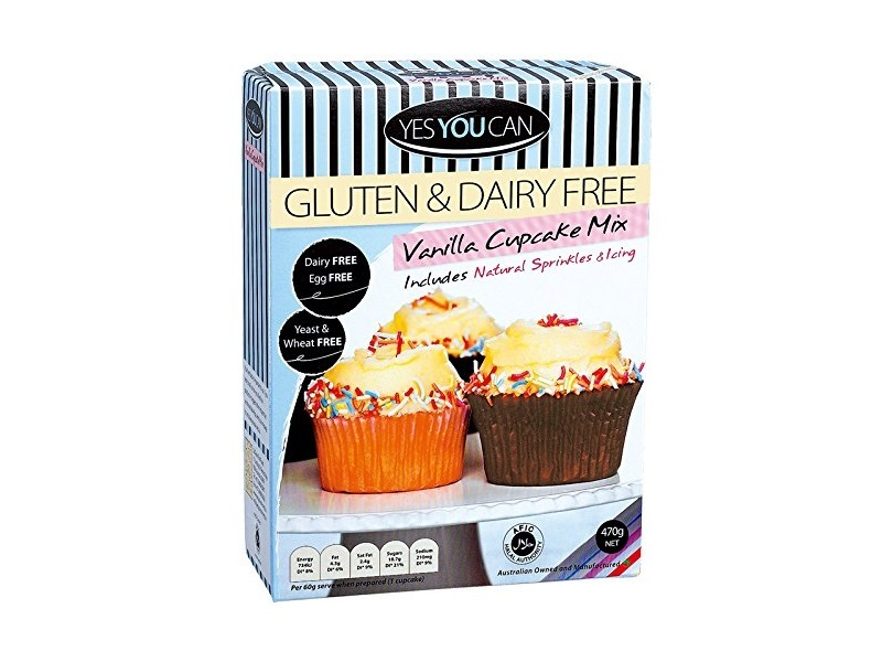 Yes You Can without Gluten Vanilla Cupcake Mix