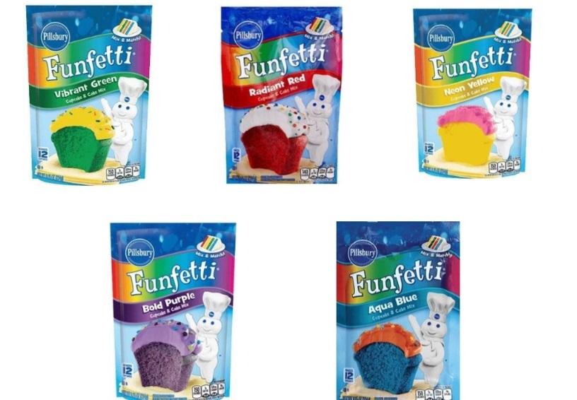 Pillsbury Funfetti Cupcake & Cake Mixes