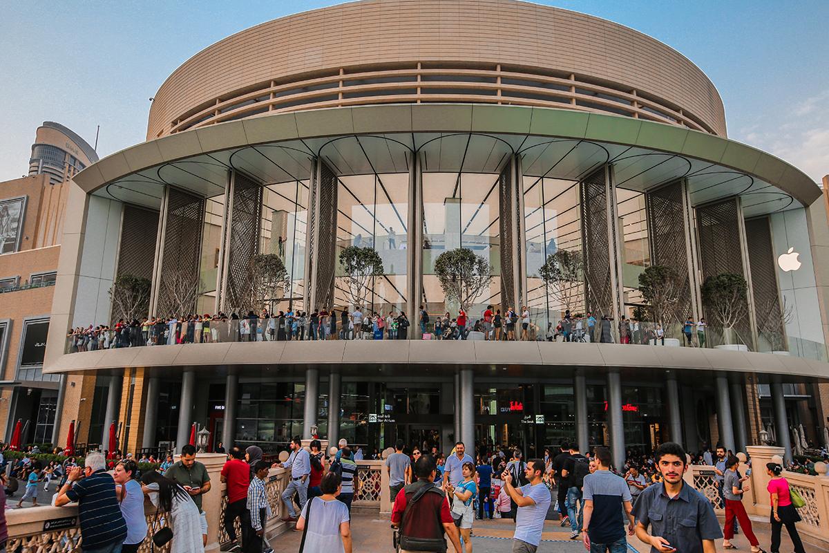 Celebrity Travel: Dubai-Mall