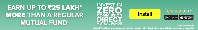 ETMONEY zero commission banner