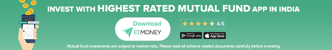 ETMONEY highest rated app banner