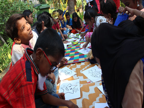 Kids-colouring