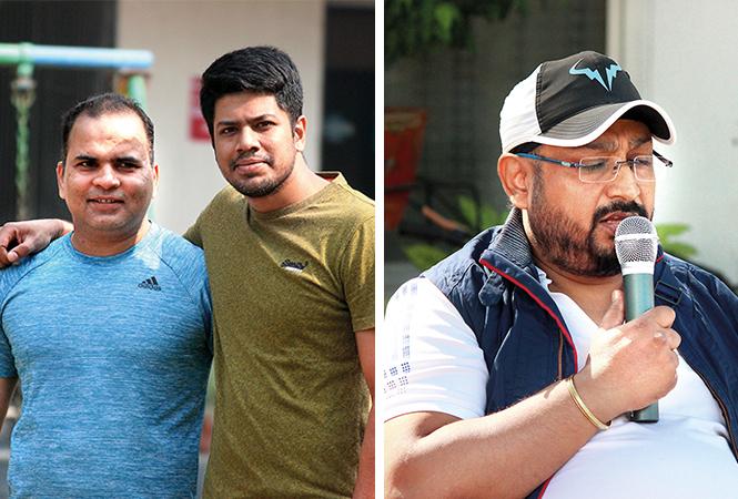 Amit (L) and Jay Peswani (BCCL/ Arvind Kumar)
