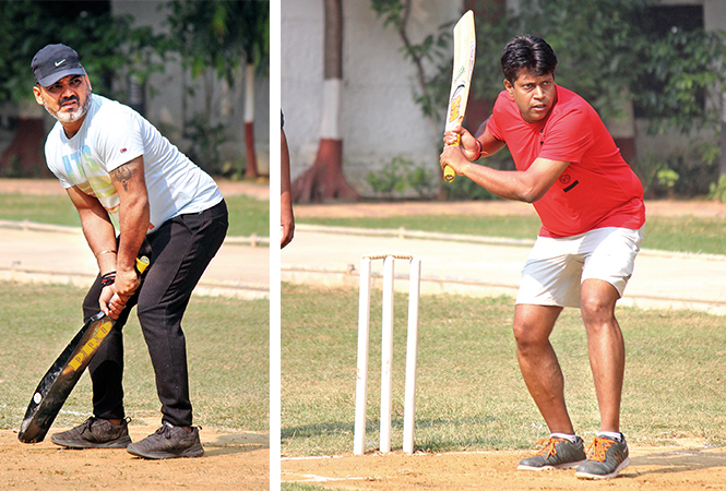 Dishant Badlani and Dr Sanjeev (BCCL/ Arvind Kumar)