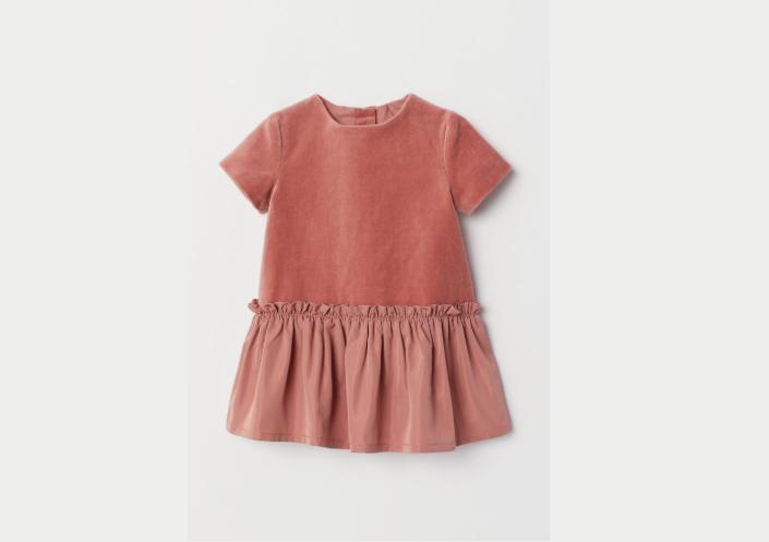 H & M cute Velvet dress