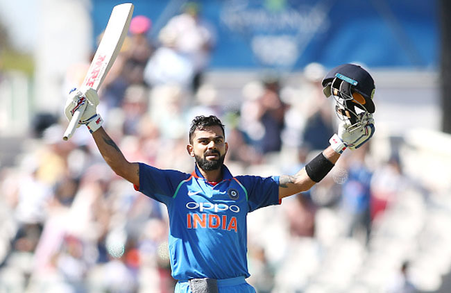 Virat Kohli Getty Images