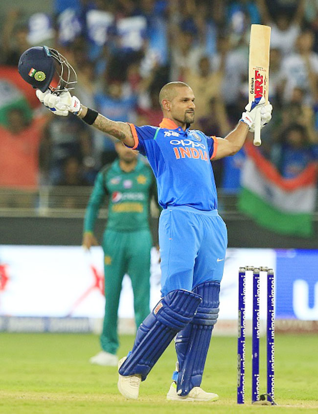 Dhawan Getty Images
