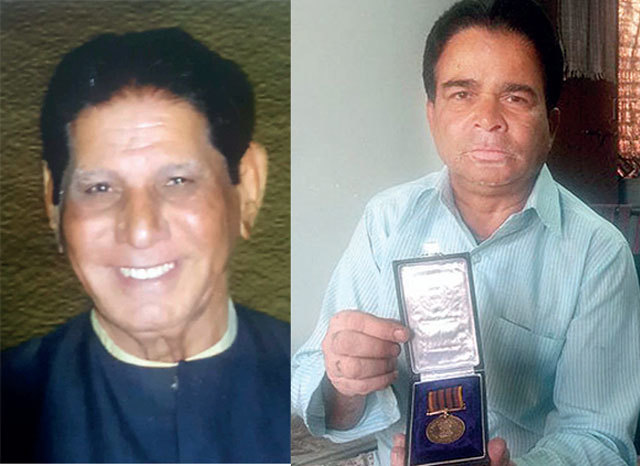 (Left) Dadubha's & Retired driver Anwar Malik, who has been awaiting his dues despite a gallantry medal, filed a writ in the HC