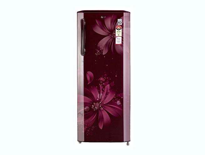 LG Direct-Cool Single Door Refrigerator (GL-B281BSAN.DSAZEBN, Scarlet Aster)