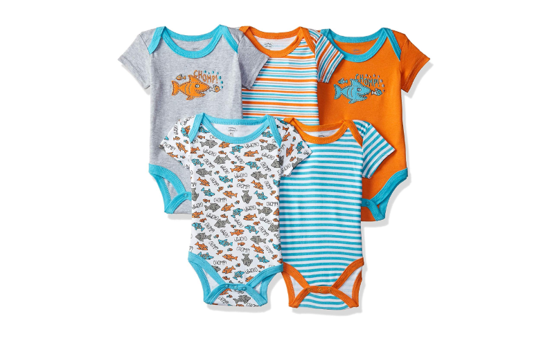 Mother's Choice Unisex Romper Suit (Pack of 5)