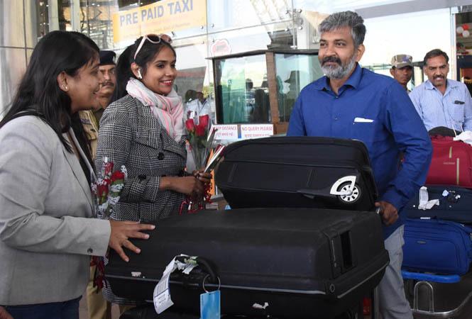 Image result for rajamouli son wedding celebrity reached jaipur