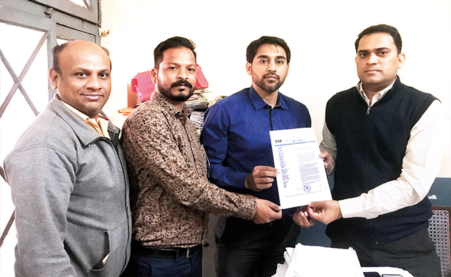 Struggling with this policy implemented by Wipro (above left) since 2016, several techies approached FITE, whose members complained to government officials on Thursday