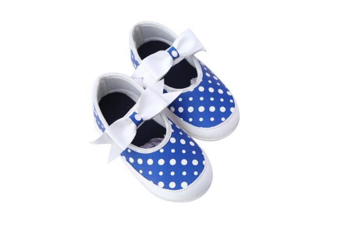 Blue Ballerinas (6-9 month baby)