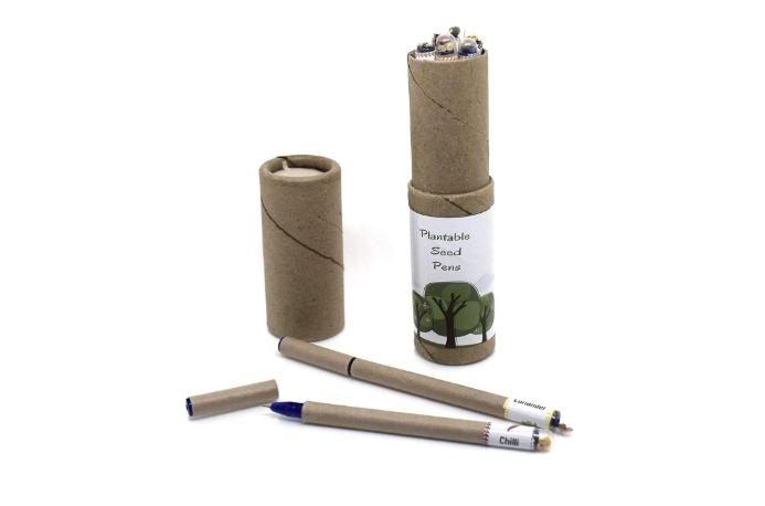 Eco Friendly Plantable Seed Pen, Box of 8 Pens