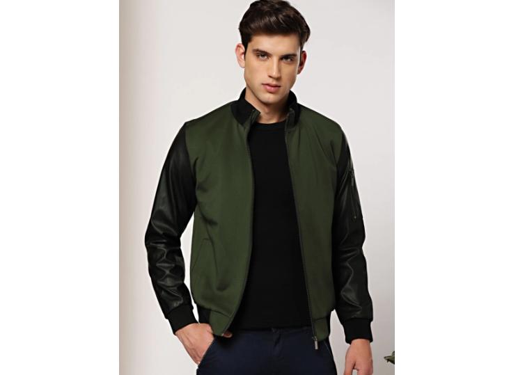 Olive Solid Jacket
