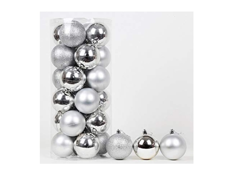 glitter balls for decoration