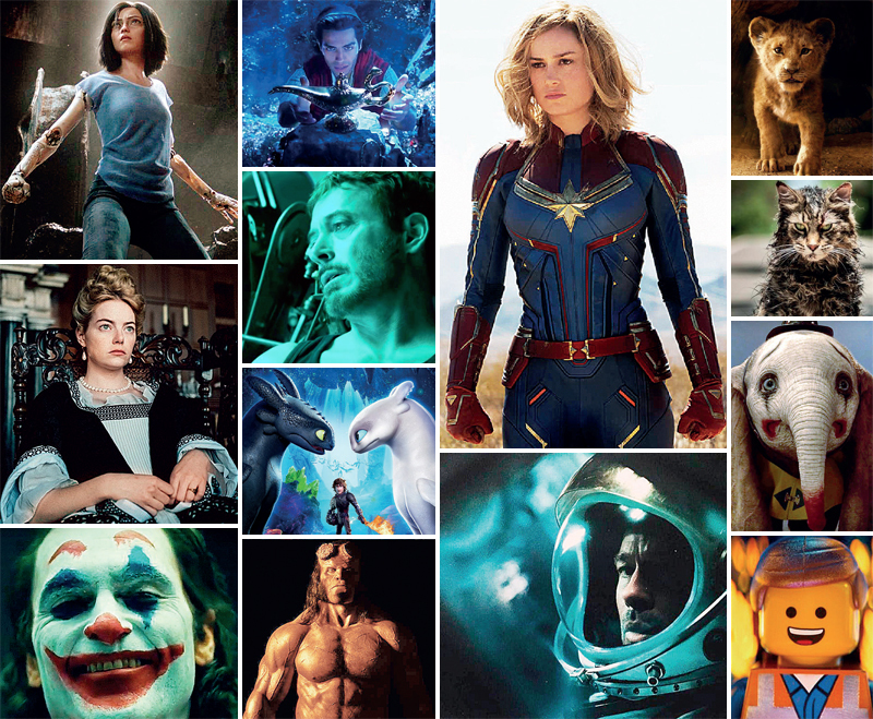 Live action films take over the Hollywood box-office along with superhero franchises and multi-starrer dramas